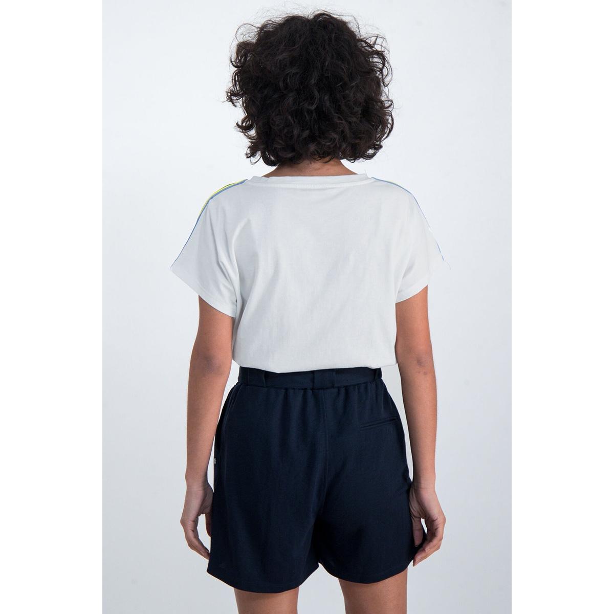 t shirt met glitter tekst print o00007 garcia t-shirt 53 off white