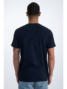 t shirt met borstzak o01003 garcia t-shirt 292 dark moon