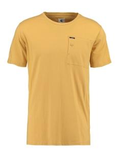 Garcia T-shirt T SHIRT MET BORSTZAK O01003 3073 YELLOW ROCK