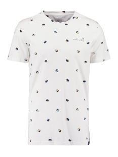 Garcia T-shirt T SHIRT MET ALL OVER PRINT O01005 53 OFF WHITE
