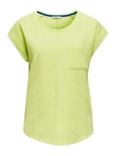 EDC T-shirt GESTRUCTUREERD SHIRT MET STRETCH EN ZAK 030CC1K310 C760