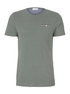 Tom Tailor T-shirt T-SHIRT MET GESTRUCTUREERD PATROON 1018131XX10 13182