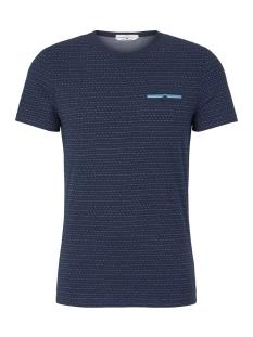 Tom Tailor T-shirt T SHIRT MET GESTRUCTUREERD PATROON 1018131XX10 10334