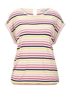 Tom Tailor T-shirt T SHIRT MET ELASTISCHE TAILLEBAND 1017095XX70 21375