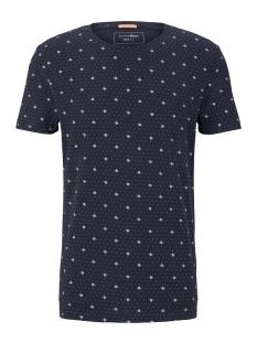 Tom Tailor T-shirt T SHIRT MET ALL OVER PRINT 1019087XX12 23122