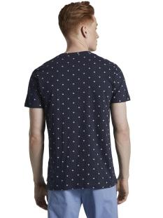t shirt met all over print 1019087xx12 tom tailor t-shirt 23122
