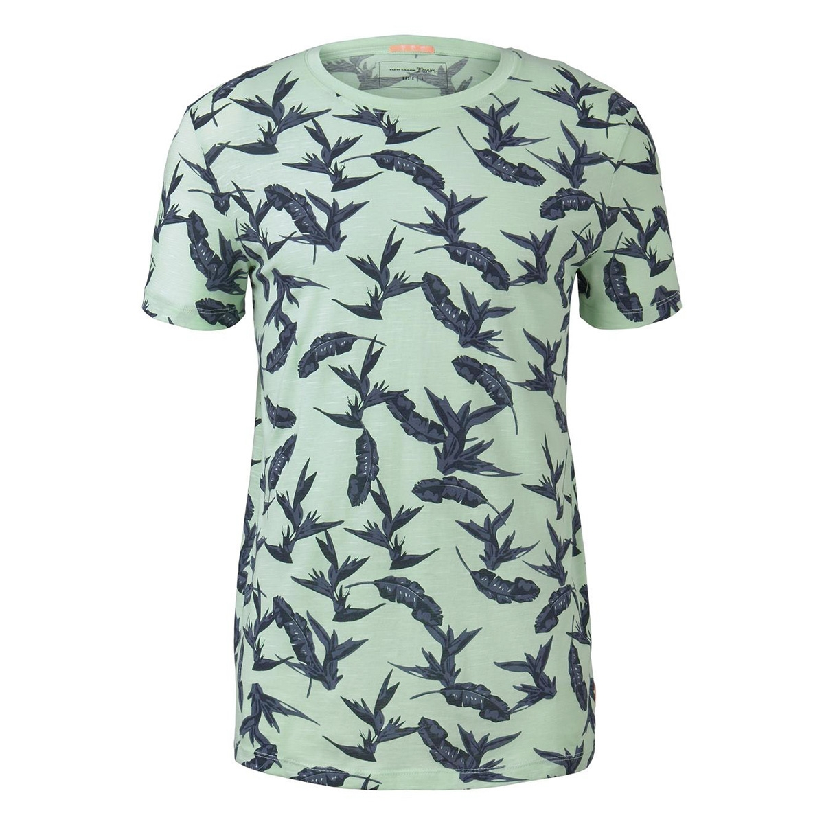 t shirt met all over print 1019088xx12 tom tailor t-shirt 23124