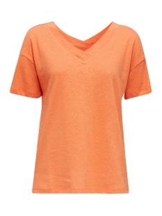 shirt met v hals voor en achter 030ee1k303 esprit t-shirt e813