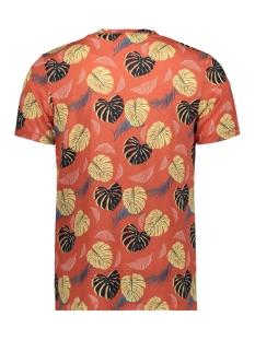 jorflame aop tee ss crew neck 12168895 jack & jones t-shirt chilli/slim