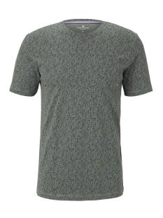 t shirt met all over print 1018124xx10 tom tailor t-shirt 22314