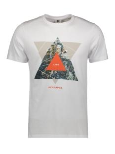 Jack & Jones T-shirt JCOIFTER TEE SS CREW NECK FST 12172216 White/SLIM