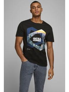 Jack & Jones T-shirt JCOIFTER TEE SS CREW NECK FST 12172216 Black