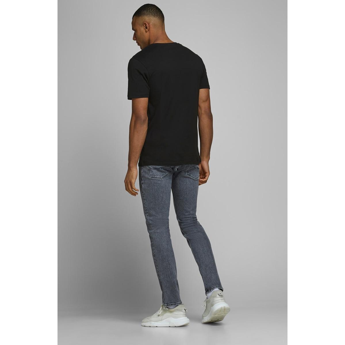 jcoifter tee ss crew neck fst 12172216 jack & jones t-shirt black