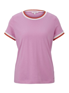 Tom Tailor T-shirt T SHIRT MET CONTRASTERENDE DETAILS 1016439XX71 21347