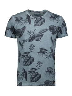 NO-EXCESS T-shirt ALL OVER PRINTED CREWNECK T SHIRT 95350217 123 STEEL