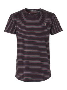 striped jersey crewneck t shirt 95340302 no-excess t-shirt 078 night