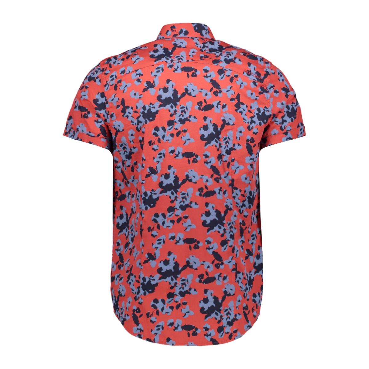 cf print shadow flower csis202634 cast iron overhemd 3074