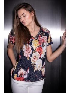 Key Largo T-shirt WT SPRING V NECK WT00206 1200 NAVY