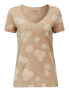 Esprit T-shirt SHIRT MET RUBBEREN PRINT ALL OVER 030EE1K339 E270