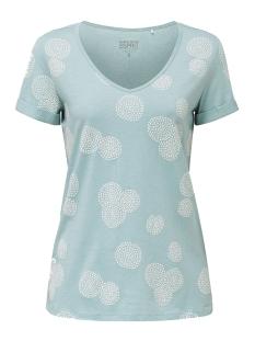 shirt met rubberen print all over 030ee1k339 esprit t-shirt e390