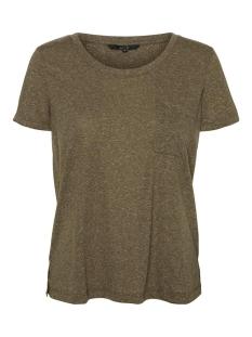 vmkanyadiana ss top box jrs ga 10227923 vero moda t-shirt ivy green