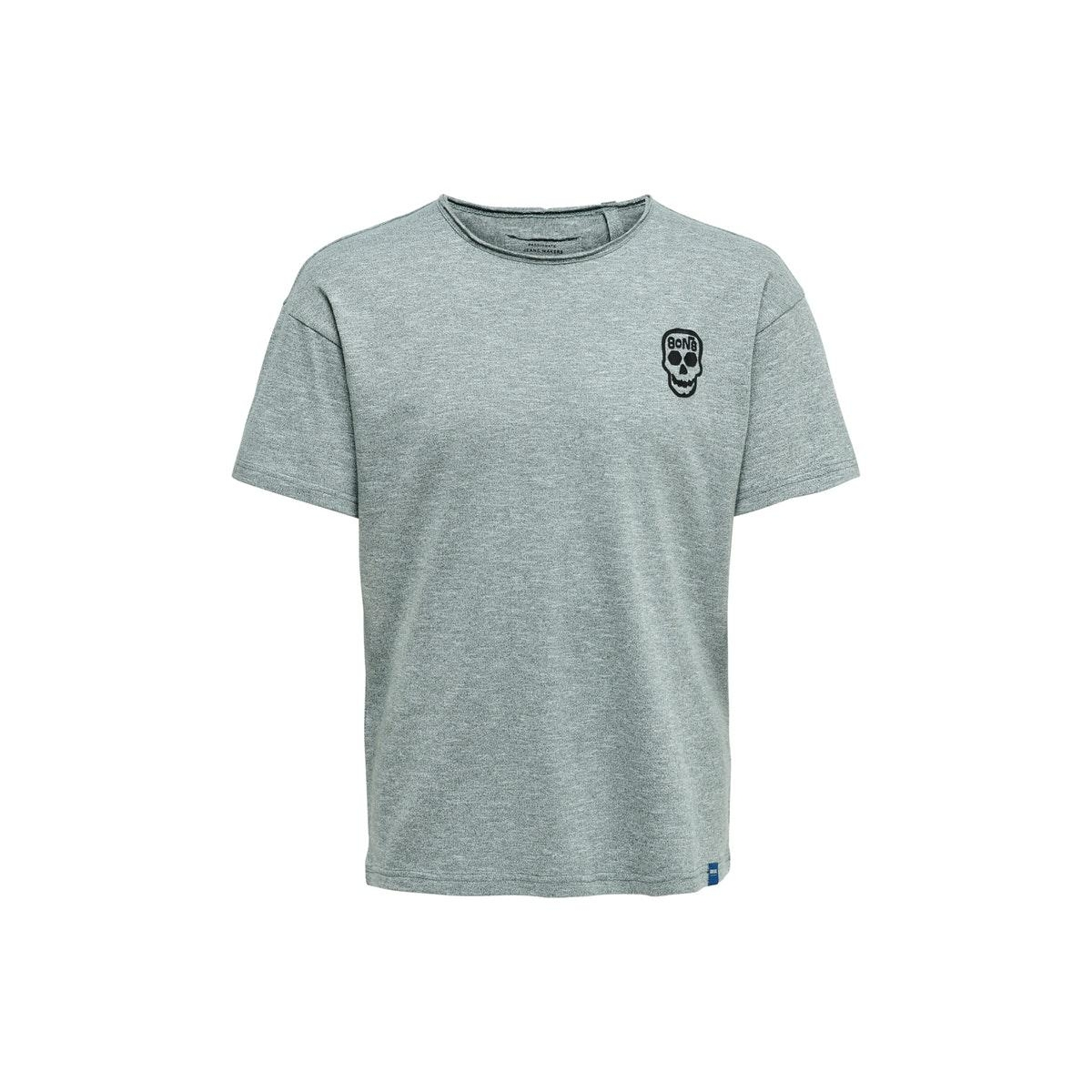 onscali life drop tee nf 6216 22016216 only & sons t-shirt balsam green