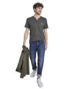 serafino t shirt met kleur patroon 1018133xx10 tom tailor t-shirt 22387