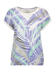 Sandwich T-shirt T SHIRT MET BOTANISCHE PRINT 21101815 40031