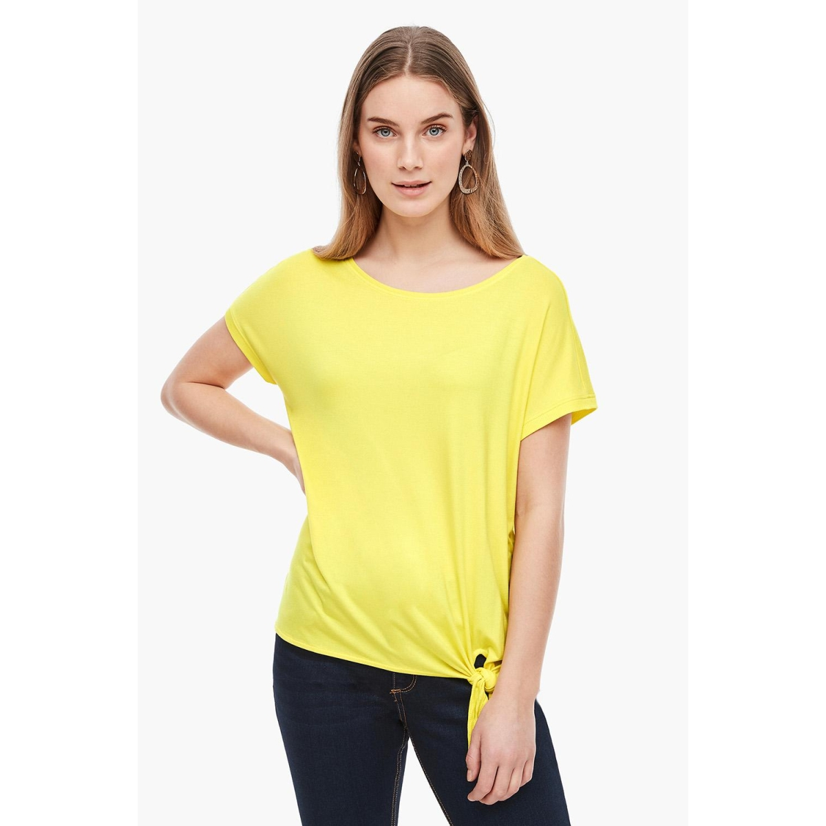 t shirt met knoopdetail 14899326071 s.oliver t-shirt 1201