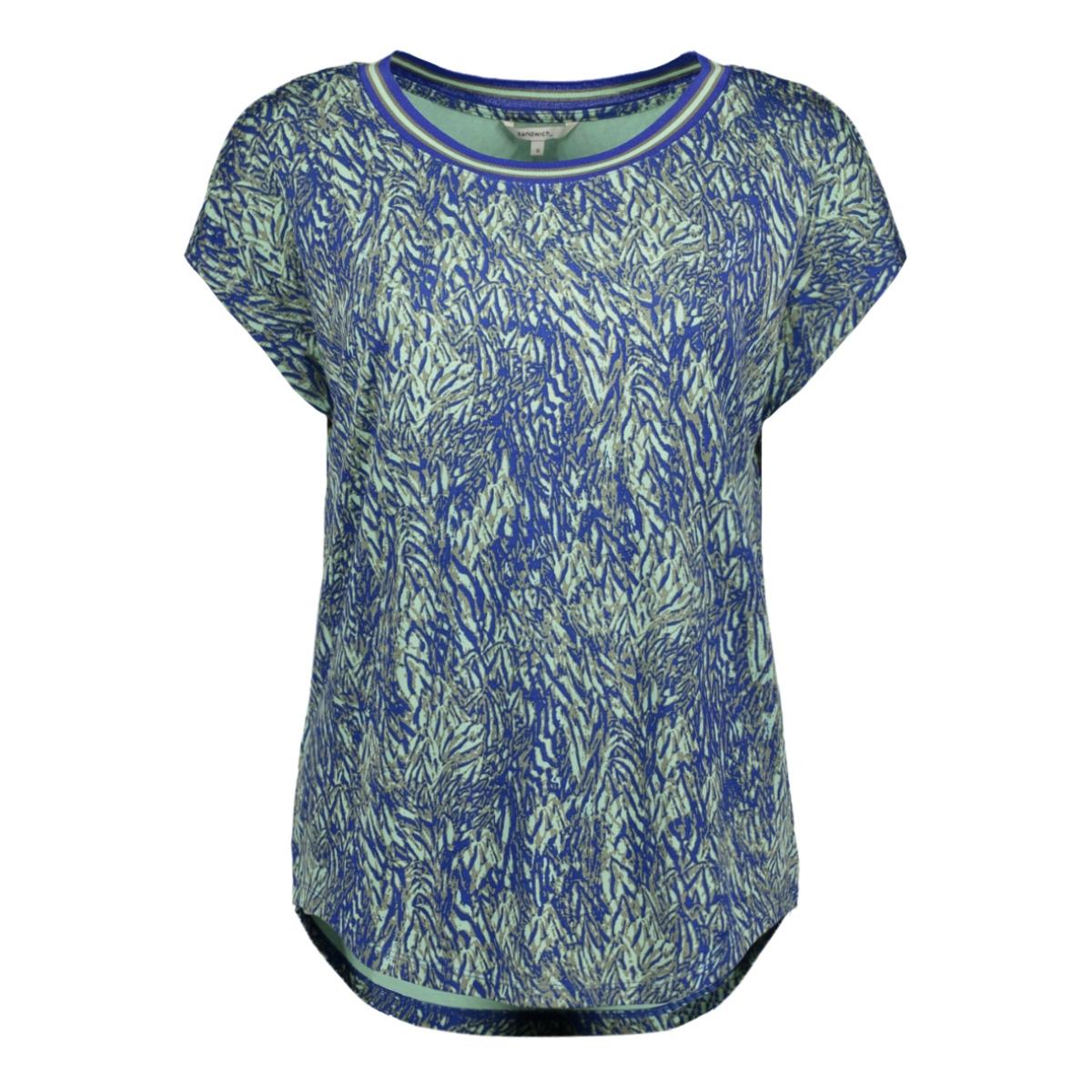 t shirt met grafische print 21101817 sandwich t-shirt 40031
