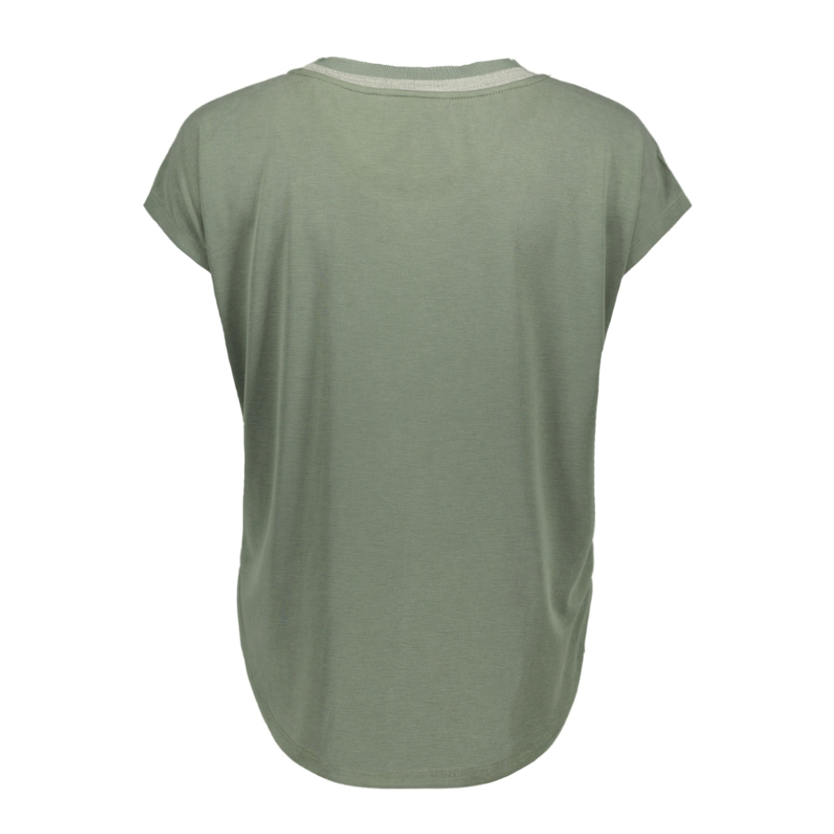 t shirt met gestreepte bies 21101823 sandwich t-shirt 50012