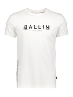 Ballin T-shirt BALLIN SS20 20019102 01 WHITE