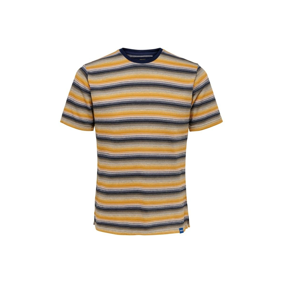 onscaden life x-slim  tee ce  6208 22016208 only & sons t-shirt misted yellow