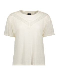 Superdry T-shirt CHEVRON LACE TEE W8010131A OYSTER