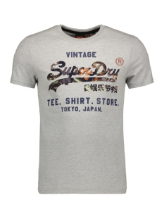 Superdry T-shirt STORE TEE M1010080B GREY MARL