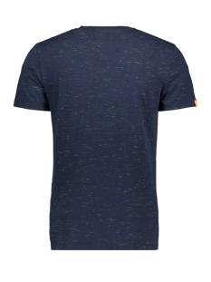 ol vintage emb crew m1010024a superdry t-shirt navy fluro space dye
