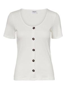 Vero Moda T-shirt VMHELSINKI SS TOP GA NOOS 10229727 Snow White