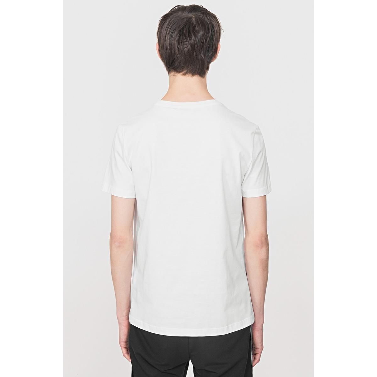 t shirt with print mmks01816 antony morato t-shirt 1000 white