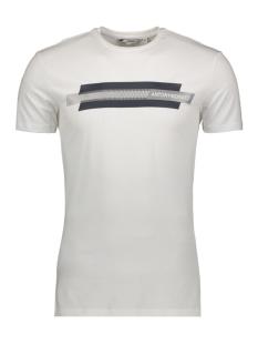 Antony Morato T-shirt T SHIRT WITH PRINT MMKS01717 1000 WHITE