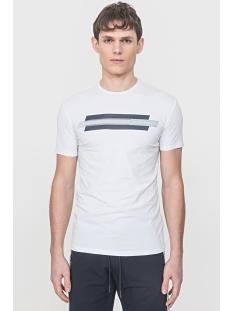 t shirt with print mmks01717 antony morato t-shirt 1000 white