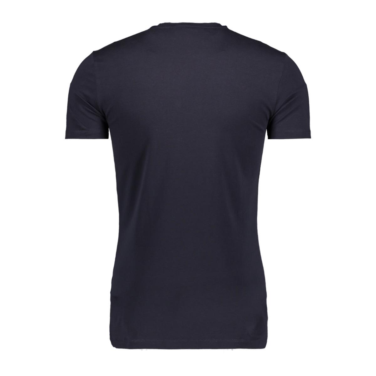 t shirt with print mmks01717 antony morato t-shirt 7073 blue ink