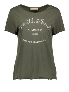 Smith & Soul T-shirt T SHIRT ROUNDNECK 0320 0321 708 FOREST