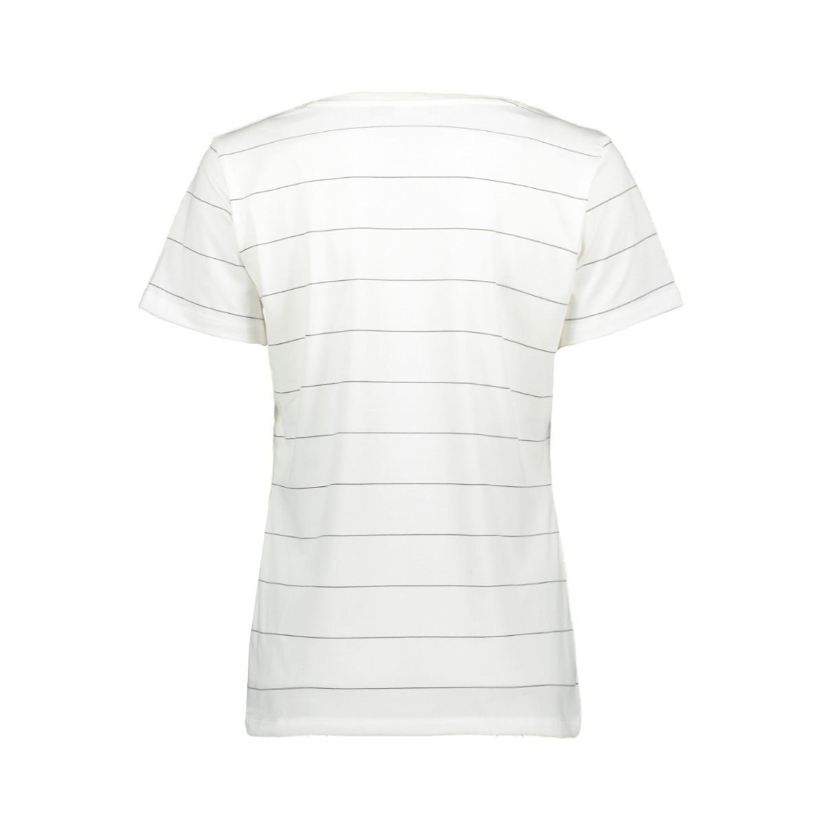 t shirt sil vous plait ss 02067 41 geisha t-shirt white/black/gold