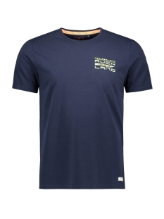 NZA T-shirt WAIOURU 20CN726 269 FRESH NAVY