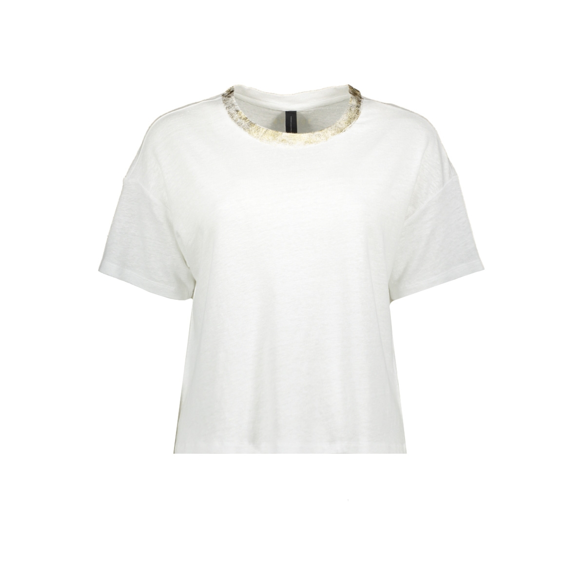 crop tee gold 20 742 0201 10 days t-shirt white