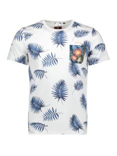 N.Z.A. T-shirt PANGURU 20CN724 10 WHITE