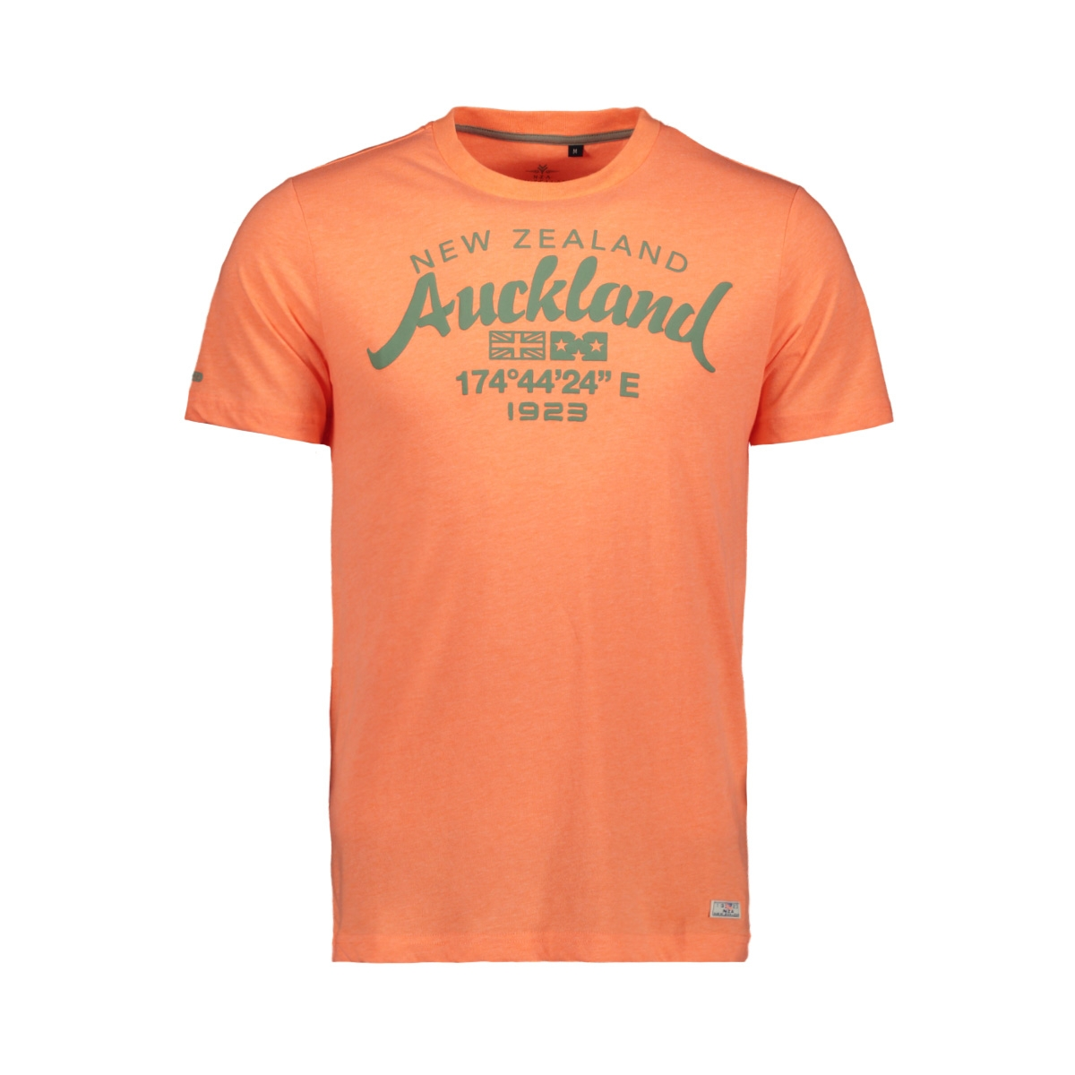 tarawera 20cn721 nza t-shirt 641 peach orange