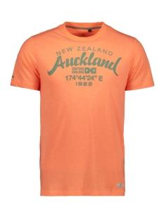 N.Z.A. T-shirt TARAWERA 20CN721 641 PEACH ORANGE