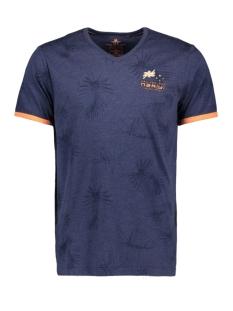 N.Z.A. T-shirt TAIRUTU 20CN723 269 FRESH NAVY