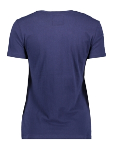vl tonal entry tee w1010028a superdry t-shirt atlantic navy